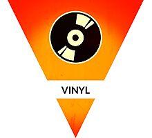 symbols: the vinyl / record Photographic Print