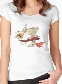 aaabaaajss - Bird Jesus Women's Fitted Scoop T-Shirt