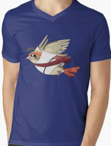 aaabaaajss - Bird Jesus Mens V-Neck T-Shirt