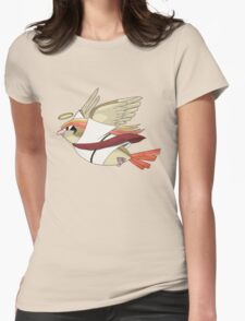 aaabaaajss - Bird Jesus Womens Fitted T-Shirt