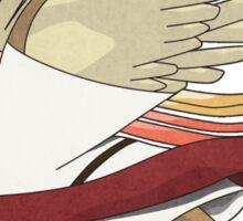 aaabaaajss - Bird Jesus Sticker