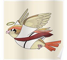 aaabaaajss - Bird Jesus Poster