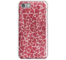 Red Love Hearts iPhone Case/Skin
