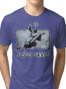 Jesus Saves Tri-blend T-Shirt