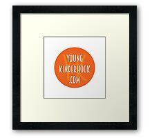 YK Orange Framed Print