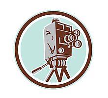 Vintage Movie Film Camera Retro Photographic Print
