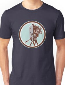 Vintage Movie Film Camera Retro Unisex T-Shirt