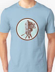 Vintage Movie Film Camera Retro T-Shirt