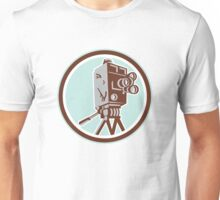 Vintage Movie Film Camera Retro Unisex T-Shirt