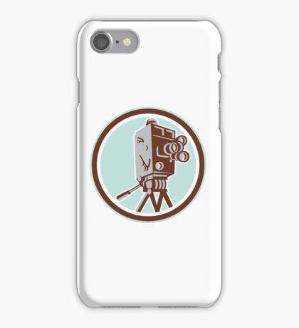 Vintage Movie Film Camera Retro iPhone Case/Skin