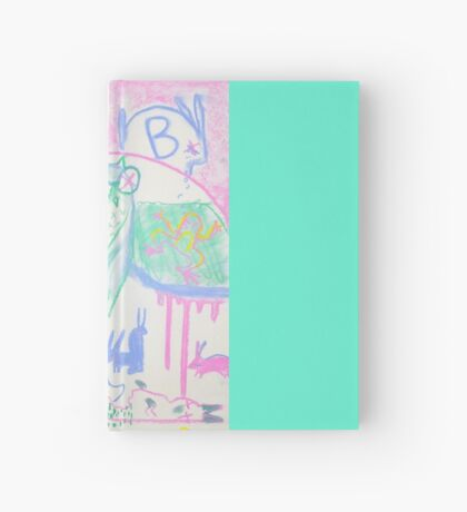 Pastel Roadkill Party with Owl and friends!  THE AFTERPARTY Hardcover Journal