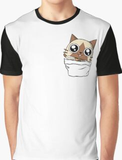 Felyne in the pocket!  Graphic T-Shirt