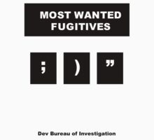 DBI - Most Wanted Fugitives by MenteCuadrada