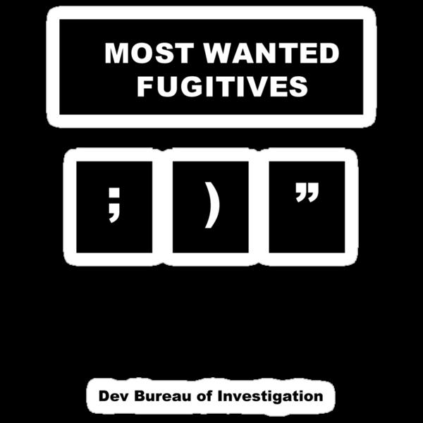 DBI - Most Wanted Fugitives by MenteCuadrada
