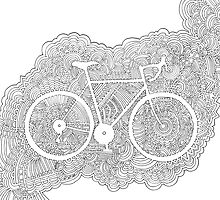Bike Drawing Meditation by kpdesign