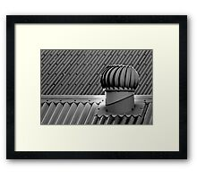 Whirligig on a hot tin roof Framed Print