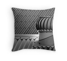 Whirligig on a hot tin roof Throw Pillow