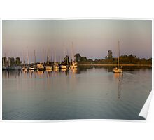 Lazy Summer Afternoon Sail Poster