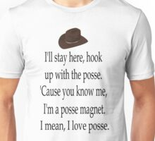 I Love Posse Unisex T-Shirt