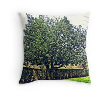 A walk in the park... Throw Pillow