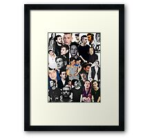 The 1975 Collage Framed Print