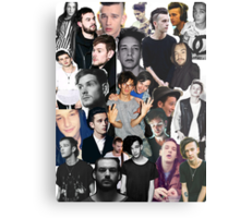 The 1975 Collage Metal Print