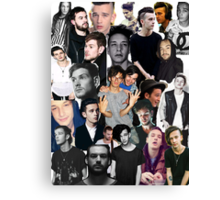 The 1975 Collage Canvas Print