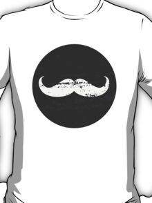 Chalkboard Mustache Pattern T-Shirt