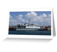 Bangor M109 Greeting Card