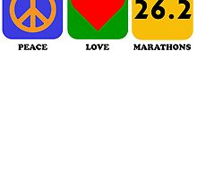 Peace Love Marathons by kwg2200