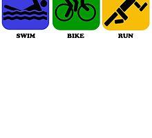 Swim Bike Run by kwg2200