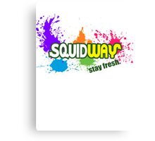 Squidway - Stay Fresh!  Canvas Print