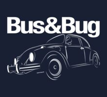 VW Beetle Logo One Piece - Long Sleeve