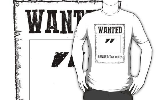 "Wanted "" by MenteCuadrada"