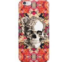 You are not here Sugar Skull iPhone Case/Skin