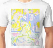 Pastel Roadkill Party with Owl and friends! Unisex T-Shirt