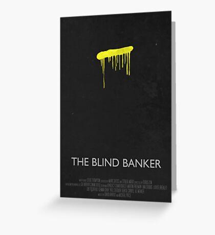 Sherlock - The Blind Banker Greeting Card