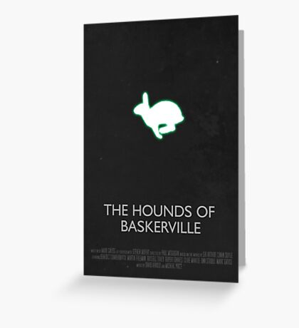 Sherlock - The Hounds Of Baskerville Greeting Card