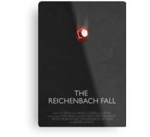 Sherlock - The Reichenbach Fall Metal Print