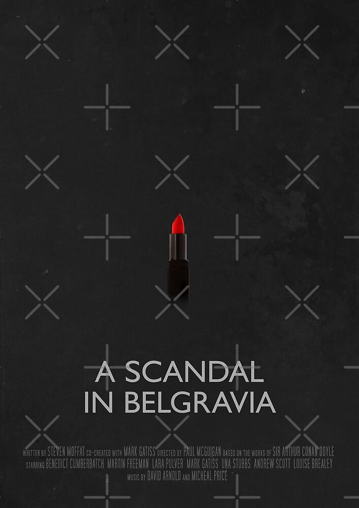 Sherlock - A Scandal In Belgravia by Ashqtara