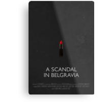 Sherlock - A Scandal In Belgravia Metal Print