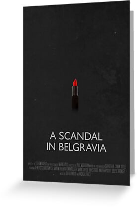 Sherlock - A Scandal In Belgravia by Ashqtara