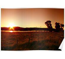 Northern Dusk - Northern Tablelands - NSW Poster