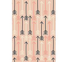Arrows Pastel Colors Pattern Photographic Print