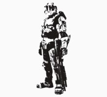 Spartan Black and White by TPceebee