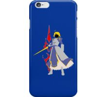 Fate Stay Night - Saber Silhouette iPhone Case/Skin