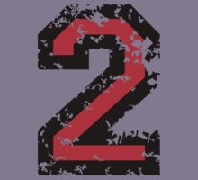 The Number Two - No. 2 (two-color) red Kids Tee