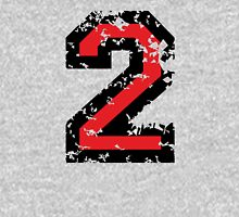 The Number Two - No. 2 (two-color) red Unisex T-Shirt