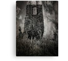 Graves in the sky Canvas Print