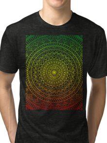 Mandala Design Tri-blend T-Shirt